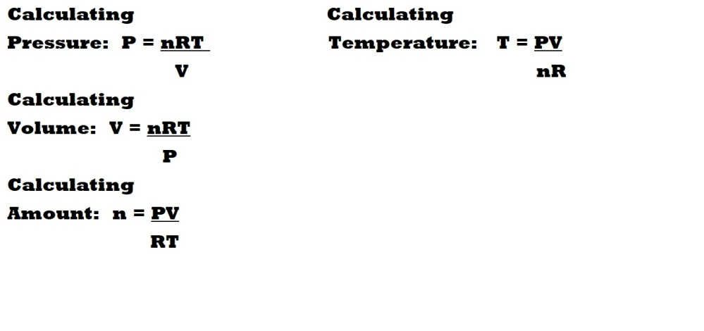 Gas Stoichiometry: The Ideal Gas Law